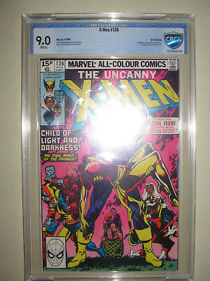 X-Men  136  9.0 CBCS graded. High grade PENCE collection.