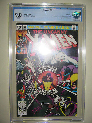 X-Men  139  9.0 CBCS graded. High grade PENCE collection.