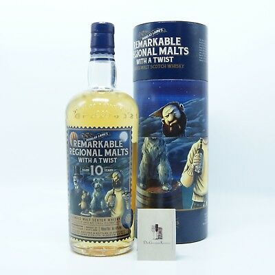 Remarkable Regional Malts with a Twist 10.Jahre, Douglas Laing,48%,0,7l