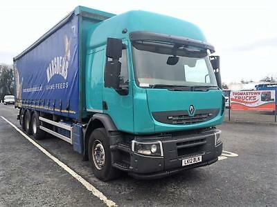 2012 Renault Lander 6X4 430Hp Trident 29Ft Curtainside Body