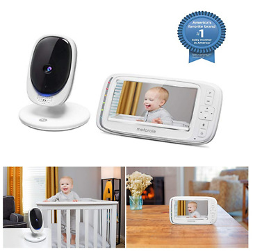 Motorola Video Baby Monitor With Camera And Audio Wifi Two Way Talk For Shelf
