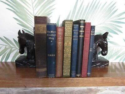 Vintage Book Bundle for Display - Instant Library - Old Book Collection #2