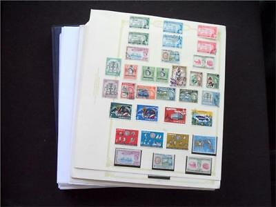 13879aj BC MINT & USED STAMP & M/SHEET COLLECTION INCL USEFUL JAMAICA LOOSE LEAV