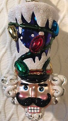 Christopher Radko 'TOP HAT OF HIS CLASS' Ornament • NEW • 2018