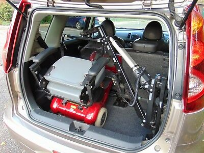 2012 Nissan Note N-TEC+ 1.6 Automatic with ***Mobility Scooter Hoist***