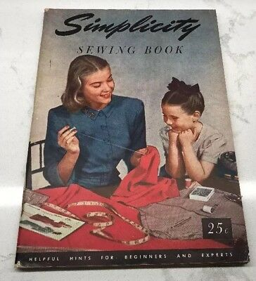 1949 Simplicity Sewing Book - Helpful Hints for Beginners and Experts