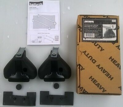 Commercial vehicle roof bar mounting kit for vans with fixpoint Relay Ducato