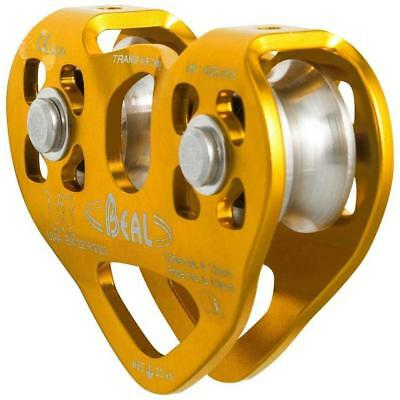 BEAL Pro Transf'Air Twin B2 Poulie double 30kN Ref:02500417  *NEUF*