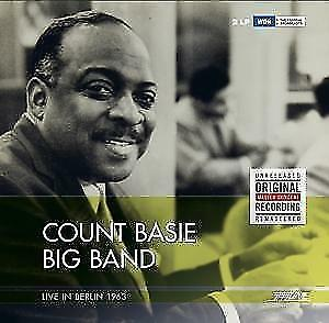 Count Basie Big Band-Live in Berlin 1963 von Count Basie (2016) VINYL SEALED