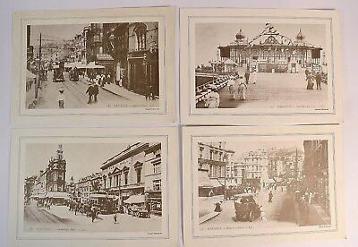 Hastings 4 X Enlarged Vintage Ll Postcard Repro 30 X 21 Cm