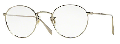 Oliver Peoples OV 1186 Coleridge 5036 Silver RX-Able Eyeglasses 47mm