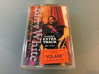 """Barry White """"Put Me In Your Mix"""" Mc K7 Tape Nuova Sigillata New Sealed"""