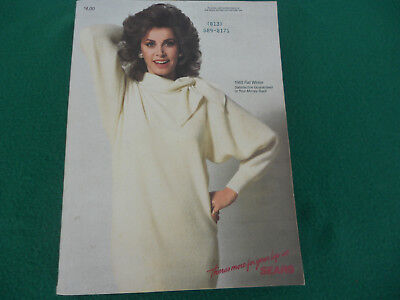 1985 Vintage SEARS Fall Winter Catalog With Stephanie Powers on Cover