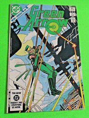 Green Arrow #4 of 4 DC Comics Bronze Age (1983) C3584