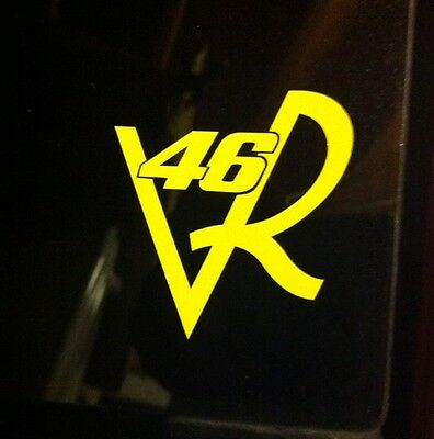 VR46 Rossi Helmet Bike Tank Decals Stickers Motogp Yamaha