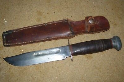 World War Two Wwii Pal Rh 36 Military Fixed Blade Fighting Knife