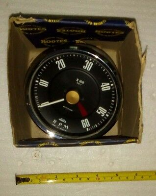 Vintage British Jaeger Mechanical Rev Counter -  New -  Roots