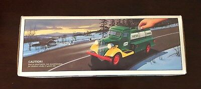 NEW 1985 First Hess Gasoline Truck Toy Bank Hess Piggy Bank Christmas Gift