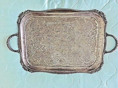 Vintage Large Silver plated tray by Viners of Sheffield
