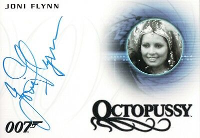 James Bond Archives 2015, Joni Flynn 'Octopussy Girl' Autograph Card A264