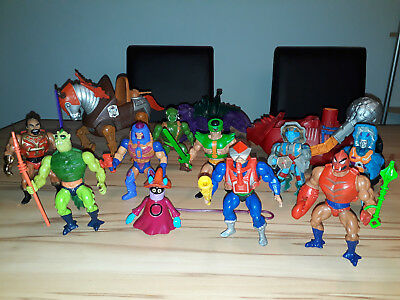 Masters Of The Universe Motu He Man Vintage Action Figuren Sammlung