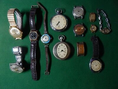 Antique/Vintage Watches Spares or repair