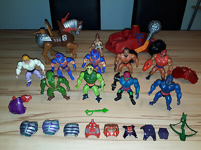 Masters Of The Universe Motu He Man Vintage Action Figuren Sammlung Konvolut