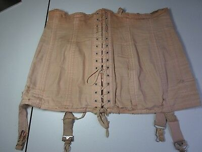 Vintage Sears Charmode Lace-Up Corset Girdle