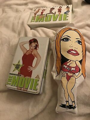 Spice World The Movie VHS Limited Edition Ginger Spice Tin