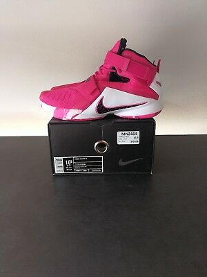 300dbe16cd0 ... think 0c54e 0b5d7  cheapest mens nike lebron soldier ix 9 basketball  shoes size 10.5 pink white 749417 601 78129