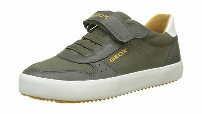 GEOX BOYS J Alonisso G Low Top Sneakers Green (Military) 11