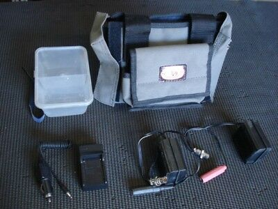 Minelab--Li ion Battery Set--Lightweight-- Control Box Cover with Pouch--Gpx