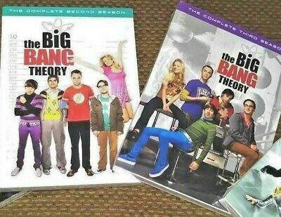 NEW Factory Sealed The Big Bang Theory Complete Seasons 2 OR 3 DVD Videos