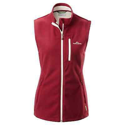 Kathmandu WindFLEECE High Collar Soft Windproof Durable Warm Outdoor Women Vest