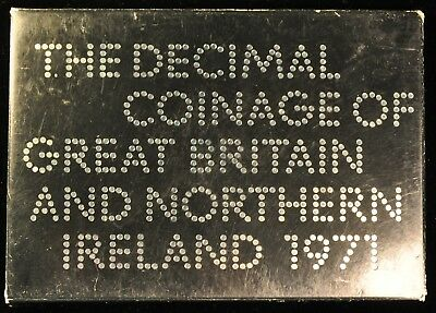 1971 Decimal Coinage of Great Britain and Northern Ireland. ITEM Z76