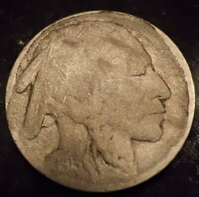 1913-S Type 2 Buffalo Nickel The Key Date  Restored