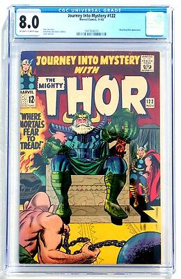 CGC 8.0 JOURNEY INTO MYSTERY with THOR #122 * 1965 * Marvel Comics
