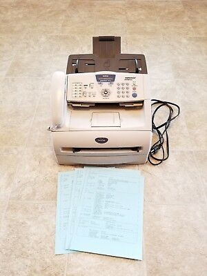 Brother Intellifax 2920 Fax And Copier