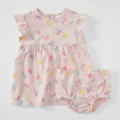 NEW Baby 2 Piece Dress & Bloomer Set