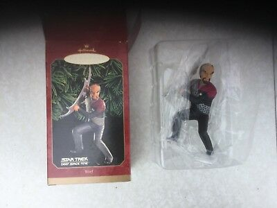 Star Trek Hallmark Figurine Ornament Worf