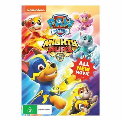 NEW Paw Patrol Mighty Pups - All New Movie - DVD