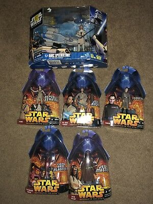 Star Wars Action Figure LOT  MOC