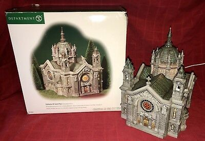 Dept 56 CATHEDRAL of ST PAUL Figure 58930 Christmas In The City