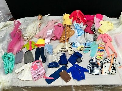 Vtg Clothing for Barbie Francie Friends Dolls - outfits accessories clothes LOT8