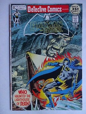 Detective Comics #414   High Grade VF   Batman   Batgirl   Neal Adams Cover