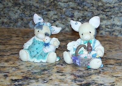 Enesco This Little Piggy Figurines Easter Sure Is Su-eet, Ducky To Have A Friend