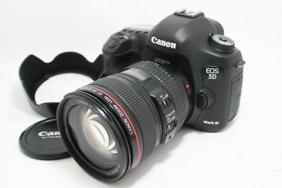 Canon EOS 5D Mark III + EF 24-105/4 L IS USM Digital Camera EXCELLENT+++