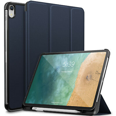 For iPad Pro 11 inch 2018 Wake/Sleep Slim Case Cover with Apple Pencil Holder