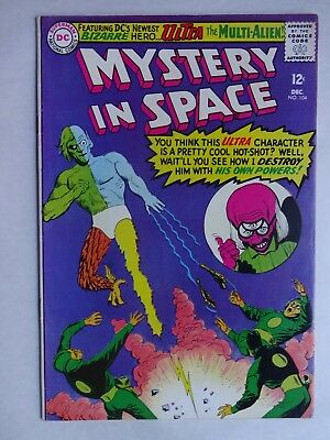 Mystery in Space #104   High Grade VF   2nd Ultra, the Multi-Alien   Silver Age