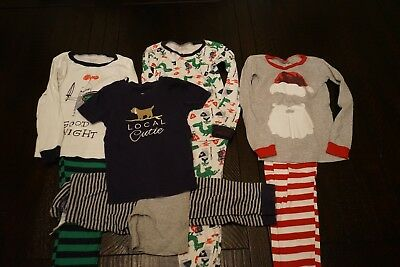 Boys size 4t pajamas 4 sets from The childrens place and carters